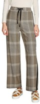Maje Women's Checked Jogging Pants