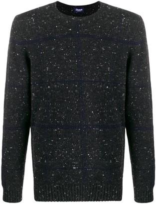 Drumohr speckle print jumper