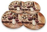 Bed Bath & Beyond Range Kleen® Decorative Ripe from the Vine Burner Covers (Set of 4)
