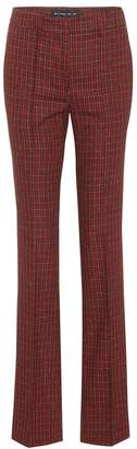 Etro Wool and cotton-blend trousers
