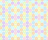 Camilla And Marc SheetWorld Fitted Bassinet Sheet - Pastel Colorful Bubbles Woven - Made In USA - 15 inches x 32 1/2 inches (38.1 cm x 82.6 cm)