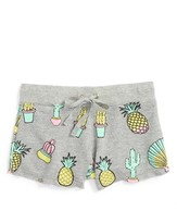Flowers by Zoe Girl's Cactus French Terry Shorts