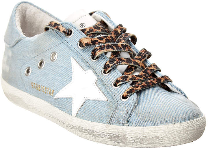 Golden Goose Superstar Denim Sneaker