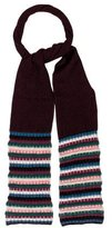 M Missoni Striped Wool Scarf