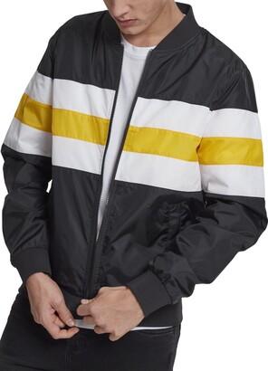 Urban Classics Men's Striped Nylon Jacket