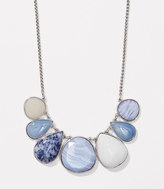 LOFT Marbleized Stone Necklace