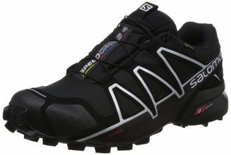 Salomon Men's Trail Running Shoes SPEEDCROSS 4 GTX Colour: Black/Black/Silver Metallic-X Size: EU 40
