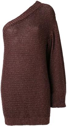 Stella McCartney One Shoulder Sweater