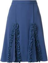 Marco De Vincenzo ruffled detail a-line skirt
