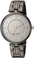 Nine West Women's Quartz Metal and Alloy Dress Watch