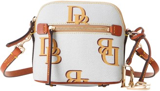 Dooney & Bourke Monogram Mini Domed Crossbody