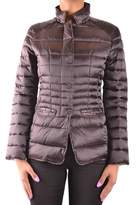 Invicta Women's Brown Polyamide Down Jacket.