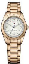 Tommy Hilfiger Women's 1781553 Casual Sport Analog Display Quartz Rose Gold Watch