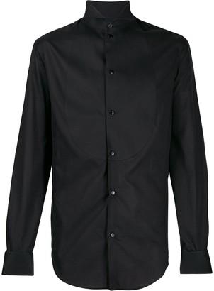 Giorgio Armani Button Up Tuxedo Shirt