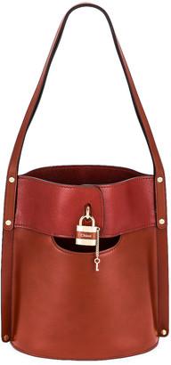 Chloé Aby Bucket Bag in Sepia Brown   FWRD