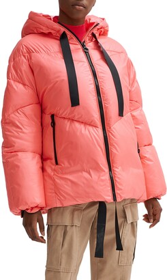 Noize Belle Oversize Hooded Puffer Coat