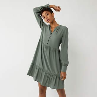 Warehouse Tiered Mini Dress