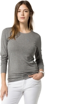 Tommy Hilfiger Long Sleeve Bateau Top