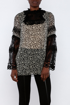 Anna Sui Long Sleeve Top