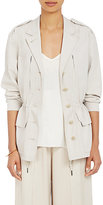 ATM Anthony Thomas Melillo Women's Safari Jacket-BEIGE