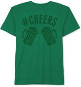 JEM Men's Hashtag Cheers Patty's Day T Shirt