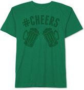 JEM Men's Hashtag Cheers Patty's Day T Shirt