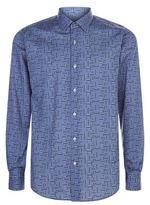 Pal Zileri Geometric Maze Print Shirt