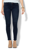 New York & Co. Soho Jeans - SuperStretch Legging - Highland Blue Wash - Tall