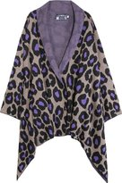 Cashmere Knitted Leo Print Topper
