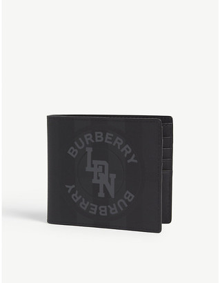 Burberry London check leather wallet