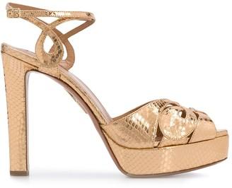 Aquazzura high heel platform sandals