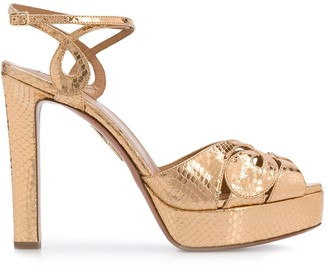 Aquazzura High Heel Platform Sandals