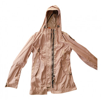Parajumpers Pink Polyester Trench coats