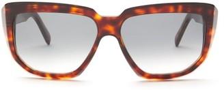 Celine Tortoiseshell-effect D-frame Acetate Sunglasses - Tortoiseshell