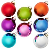 Bloomingdale's Multi Shiny Bright Glass Ball Ornaments, Set of 8 - 100% Exclusive