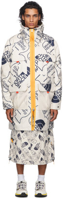 Brain Dead Off-White The North Face Edition Oversized Mountain Light Parka