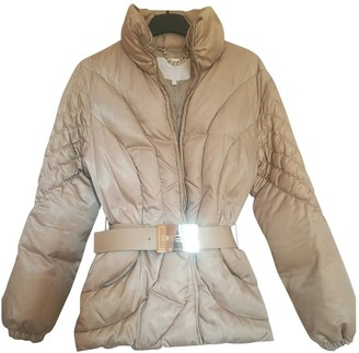 Elisabetta Franchi Beige Coat for Women