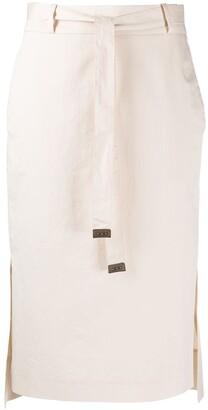 Peserico High-Waisted Skirt