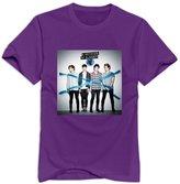 Enlove 5 Seconds Of Summer Short Sleeve T Shirt For Men Size XXL