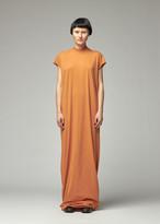 Rick Owens Women's Jumbo Gown Dress in Tangerine Size XS