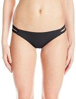 Oakley Women's Core Solids Strap Side Bikini Bottom
