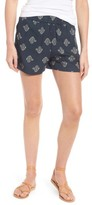 Madewell Women's Flower Print Shorts