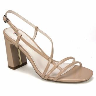 Rialto Tally Dress Sandal Nude Patent Size 6.5