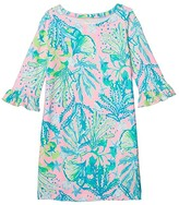 Lilly Pulitzer UPF 50+ Mini Sophie Ruffle Dress (Toddler/Little Kids/Big Kids) (Mandevilla Baby Hip Nautic) Girl's Dress