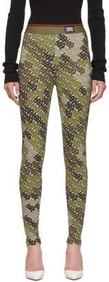 Burberry Green TB Turama Leggings