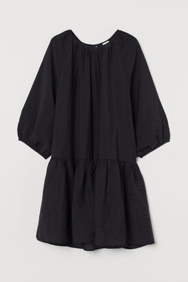 H&M Balloon-sleeved Dress