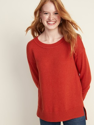 Old Navy Drop-Shoulder Crew-Neck Sweater for Women
