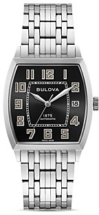 Bulova Limited Edition Joseph Banker Automatic Watch, 33mm x 33.5mm