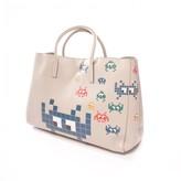 Anya Hindmarch Ebury Maxi Beige Leather Handbags