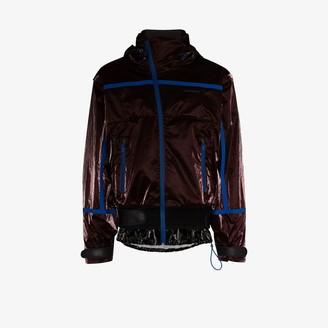 Givenchy Velvet Hood High Shine Windbreaker